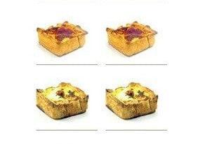 Les tartes salées Naked