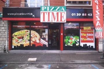 Les tex mex Pizza Time