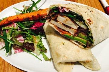 Les wraps chez Nabab Kebab