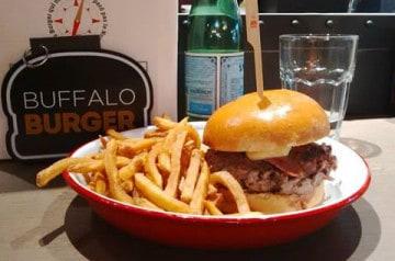 Lille accueille le 1er Buffalo Burger de France