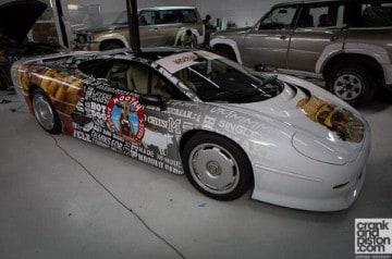 Livraison de burgers en Jaguar