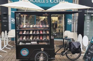 Machouille's Coffee lance son triporteur à Nantes