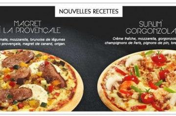 Magret et Gorgonzola à la Boite à Pizza