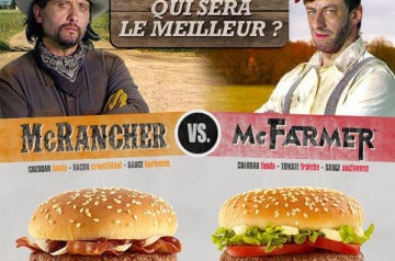 McRancher, McFarmer, McTimber chez Mc Donald's