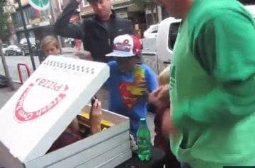 Méfiez-vous des pizzas gratuites