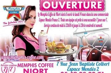 Memphis Coffee s'installe à Niort