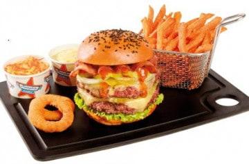Memphis propose un burger spécial Halloween