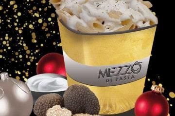 Menu de fin d'année au Mezzo di Pasta