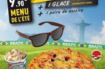 Menu de l'été chez Pizza Bonici