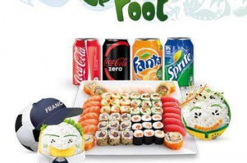 Menu Fans de Foot Eat Sushi