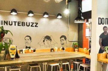 Minutebuzz ouvre son premier bar à burgers à Paris