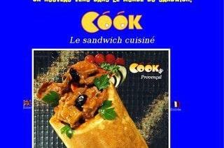 Mister Cook arrive dans le monde du sandwich