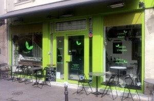 Naissance d'un fast food bio à Paris