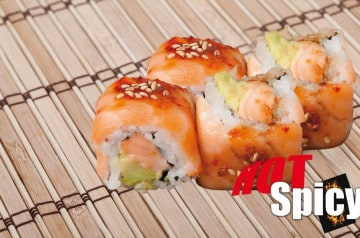 Nina Sushi fait braiser thon et saumon