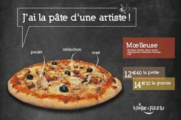 Nouveau mois, nouvelle pizza chez Le Kiosque à Pizzas