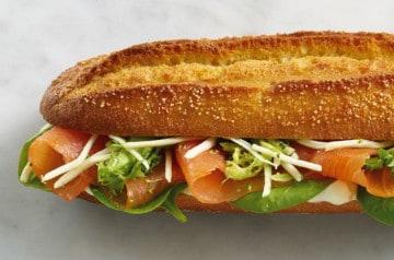 Nouveaux sandwiches et salades à la Brioche Dorée