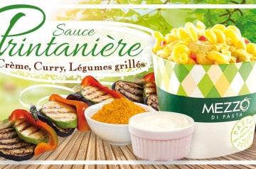 Nouvelle sauce printemps 2019 au Mezzo Di Pasta