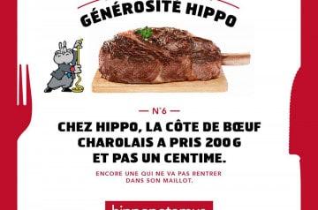 Offrez-vous un repas à bas prix grâce à Hippopotamus
