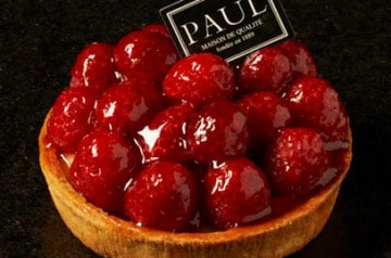 Paul propose des tartes aux fruits de saison