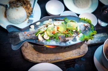 Pêchez vous-même votre poisson au restaurant