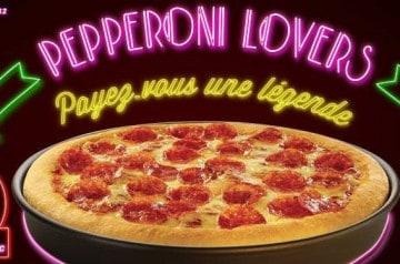 Pepperoni Lovers par Pizza Hut