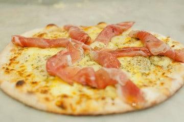 Pizza Alpine et Pizza au Nutella Mister Pizza