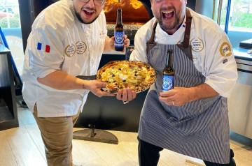 Pizza Cosy x Jason Chicandier: découvrez leur nouvelle pizza