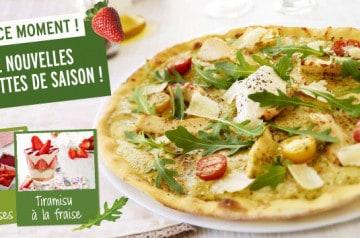 Pizza Paï propose des recettes saisonnières