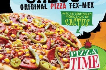 Pizza Taco Chico chez Pizza Time