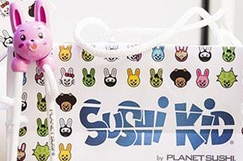 Planet Sushi propose des menus pour enfants