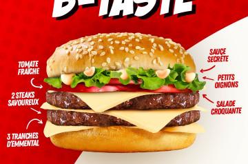 Point B : le spécialiste des burgers halal nous régale