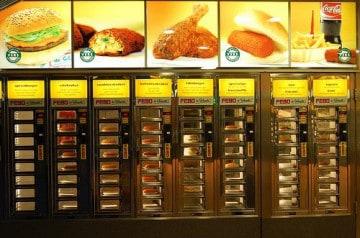 Portion en fast-food et prise de poids