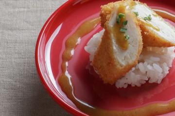 Poulet pané sauce curry chez Matsuri