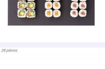 Quelques nouveautés de la carte Eat Sushi