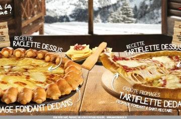 Raclette ou tartiflette : Pizza Hut propose les deux