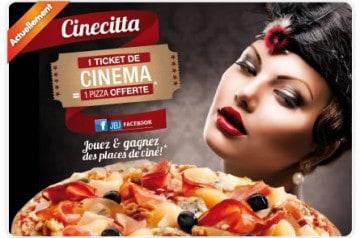 Rendez-vous des cinéphiles chez Tutti Pizza