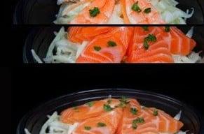 Salade de chou chez Sushi Love