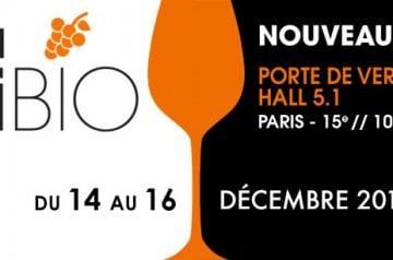 Salon ViniBio 2018 à Paris du 14 au 16 décembre