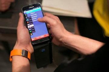 Samsung s'invite au restaurant