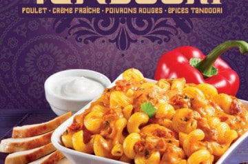 Sauce Tandoori et Muffin Blanc chez Mezzo Di Pasta