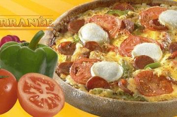 Saveur méditerranéenne chez Speed Rabbit Pizza