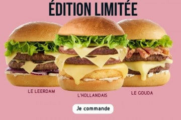 Speed Burger : 3 burgers pour le printemps