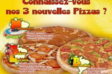 Speed Rabbit Pizza aux couleurs du Brésil