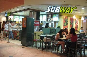 SUBWAY : 1 200 restaurants de plus en France