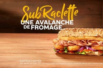 Subway : nouvelle recette et prix réduits