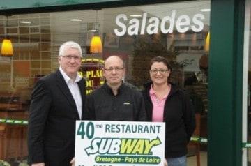 Subway : objectif d'ouvertures 2011 atteint