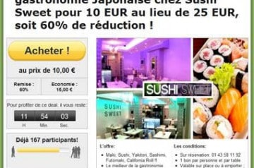 Sushi à Paris : le bon plan !
