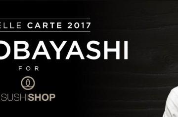 Sushi Shop : les créations du chef Kei Kobayashi