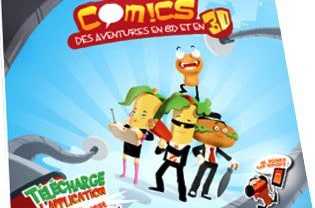 Tasty Comics dans les KFC menus enfants