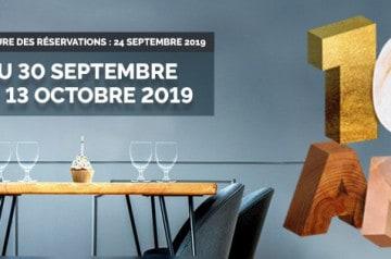 Tous au restaurant: la 10e édition à partir du 30 septembre